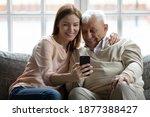 Look  Grandpa. Loving Adult...