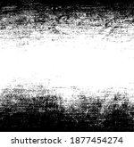 scratched frame. grunge urban... | Shutterstock .eps vector #1877454274