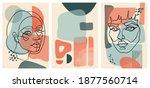 trendy color oneline simple... | Shutterstock . vector #1877560714