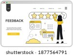 feedback landing page concept....