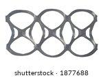 six pack plastic holder | Shutterstock . vector #1877688