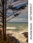 Rugged Cape Perpetua Along The...