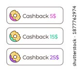 modern stickers templates with... | Shutterstock .eps vector #1877762974
