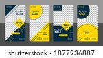 stories template set for banner ... | Shutterstock .eps vector #1877936887