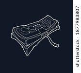 classic retro gempad icon. old... | Shutterstock .eps vector #1877983807