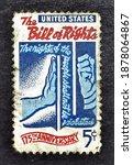 usa   ccirca 1966   cancelled... | Shutterstock . vector #1878064867