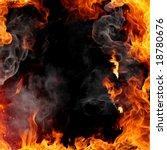 fire frame   Shutterstock . vector #18780676