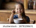 How Tasty. Cute Little Girl...