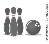 skittles  ball on white... | Shutterstock .eps vector #1878226501
