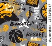 seamless pattern for basketball.... | Shutterstock .eps vector #1878248167