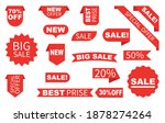 sale label collection set. set...   Shutterstock .eps vector #1878274264