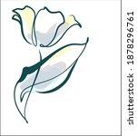 Vector Floral Digital Sketch...