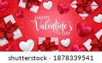 valentine's vector banner... | Shutterstock .eps vector #1878339541