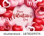 valentine's vector background...   Shutterstock .eps vector #1878339574