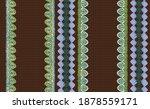seamless ethnic batik style...   Shutterstock .eps vector #1878559171
