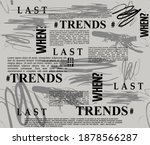 trends shen last slogans brush...   Shutterstock .eps vector #1878566287