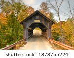 Rural Vermont Covered Bridge By ...