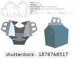 carrier box packaging design... | Shutterstock .eps vector #1878768517