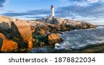 Peggy's Cove Lighthouse At...