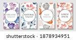 tropical line arts vector cover ... | Shutterstock .eps vector #1878934951