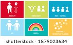 inclusion and diversity...   Shutterstock .eps vector #1879023634