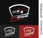 auto detailing logo design... | Shutterstock .eps vector #1879183201
