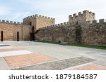 Medieval Stone Wall That...