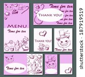 illustration menu  | Shutterstock . vector #187919519