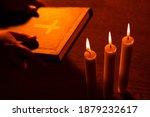 Religion And Faith. Warm Shot...
