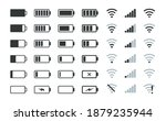 battery charge indicator.... | Shutterstock .eps vector #1879235944