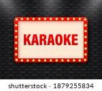 vintage karaoke retro  great...   Shutterstock .eps vector #1879255834