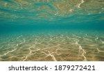 Underwater Background  Sandy...