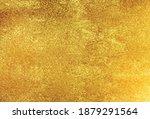 golden foil texture background  ... | Shutterstock .eps vector #1879291564