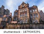 Facade Of Istoric Castle Hill...
