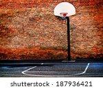 Detail Of Urban Basketball...
