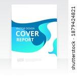 vector abstract design cover...   Shutterstock .eps vector #1879424821