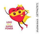 love is a superpower. super... | Shutterstock .eps vector #1879467871