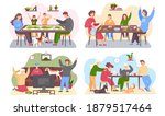 set of illustrations about...   Shutterstock .eps vector #1879517464