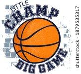 typography bright basketball... | Shutterstock .eps vector #1879535317