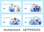 directors board web banner or... | Shutterstock .eps vector #1879545241