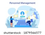 personnel management concept.... | Shutterstock .eps vector #1879566577