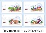 wine maker web banner or... | Shutterstock .eps vector #1879578484