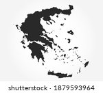 greece vector map. high... | Shutterstock .eps vector #1879593964