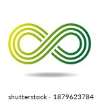 Symbol Of Infinity In Greens....