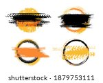 grunge off road post and... | Shutterstock .eps vector #1879753111