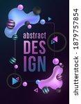futuristic design banner.... | Shutterstock .eps vector #1879757854
