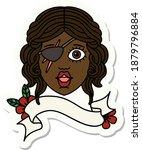 sticker of a human rogue... | Shutterstock .eps vector #1879796884
