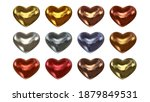 set of realistic glossy...   Shutterstock .eps vector #1879849531