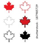 A Collection Of Vector Canadia...