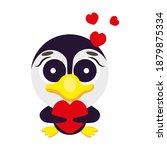 cute cheerful  childish ... | Shutterstock .eps vector #1879875334
